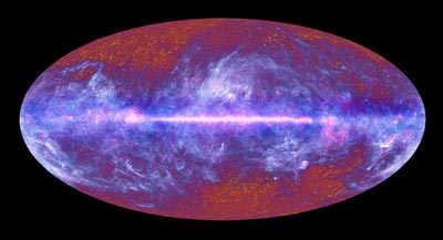 All-sky image of the cosmic microwave background from the Planck mission