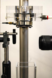 Photo of an experimental nozzle