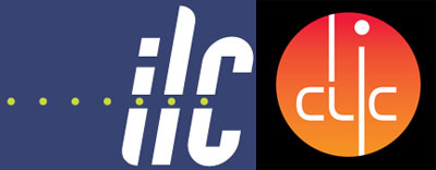 Logos of the International Linear Collider and the Compact Linear Collider