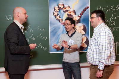 Photograph of Jeroen van den Brink, Krzysztof Wohlfeld and Thorsten Schmitt