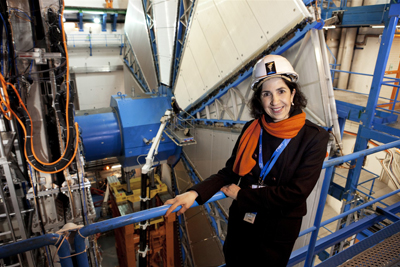 Fabiola Gianotti at CERN