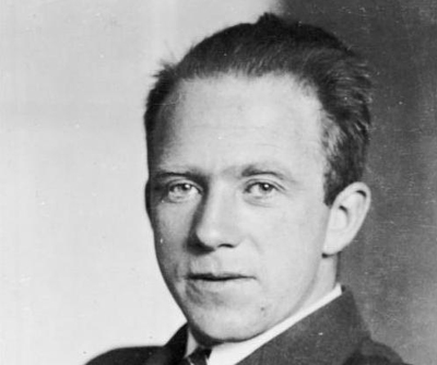 Photograph of Werner Heisenberg