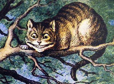 Illustration of the Cheshire cat