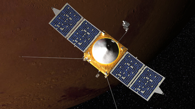 Launch of NASA's MAVEN craft