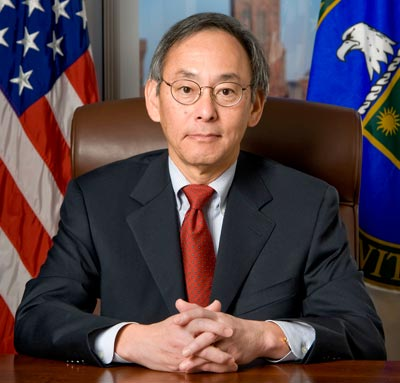 Nobel laureate Steven Chu