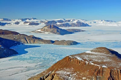 An image of an Antarctic landscape