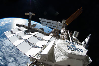 Alpha Magnetic Spectrometer on the International Space Station