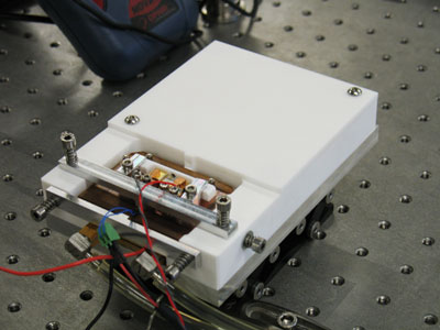 Photograph of the Active Coherent Laser Spectrometer