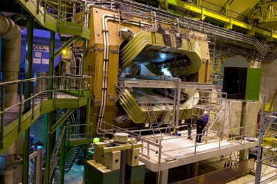 Photograph of the LHCb experiment