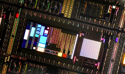 Photograph of a D-Wave quantum computer