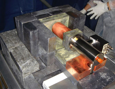 Photo of the CoGeNT detector
